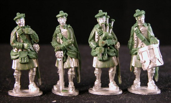 An example of Frank Hammond's Minden Miniatures sculpted by Richard Ansell.